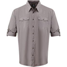 Sherpa Ravi Chemise manches longues Homme, monsoon grey